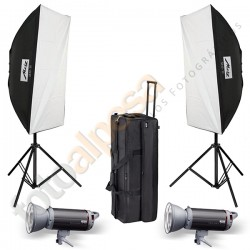 Kit Flash Estudio Top Line TL-600-SB Kit II