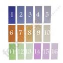"""16 Geles Rosco correctores de luz """"Color correction kit"""""""