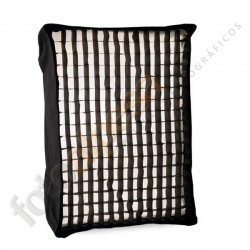 Soft box con grid 60cm