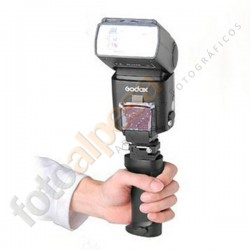 Grip para flash speedlite