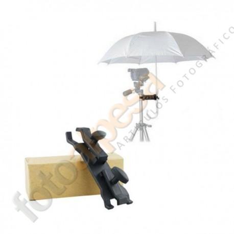 Soporte para paraguas a trípode