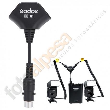 """Cable """"Y"""" adaptador para batería PROPAC Godox"""