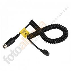 Cable Godox Mx para Metz