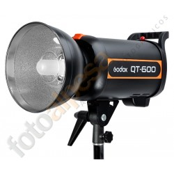Godox QTII 600W Kit X1+2 Softbox+2 Pies estudio