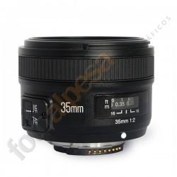 Yongnuo EF Yn-35mm f/2.0 para Nikon