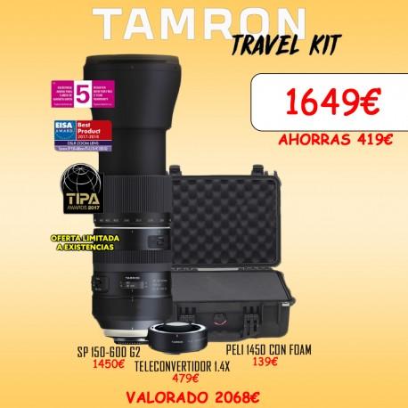 Tamron 150-600 G2+ 1.4x + peli 1450
