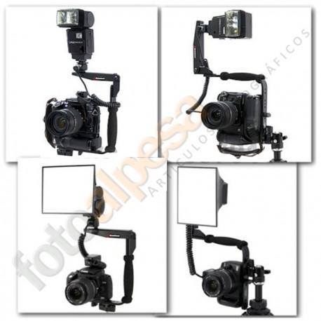 Soporte cámara flash