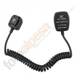 Cable TTL  para Canon  1.5 m. FC-E3