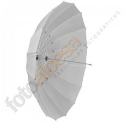 Paraguas translúcido 140 cm