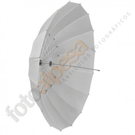 Paraguas translúcido 150 cm
