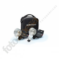 SET 2 FLASHES COMPACTOS ELINCHROM ELC PRO HD 1000