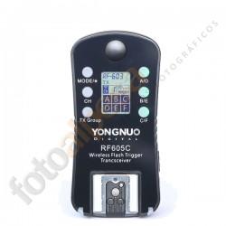 Trigger Yongnuo RF-605 Nikon (Pack de 2 Unidades)