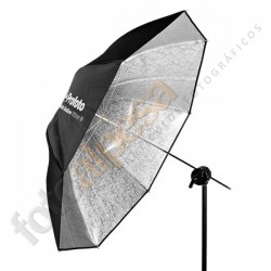 Paraguas Profoto Shallow Plateado M