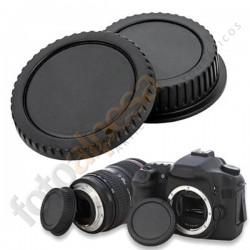 Tapas CANON objetivo trasera+cámara delantera