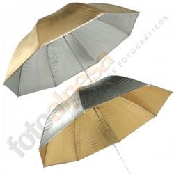Paraguas oro/plata 40´´(101cm)