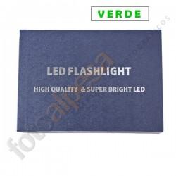 Linterna ultrafire WF-502B edición especial Verde