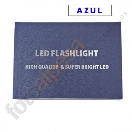 Linterna ultrafire WF-502B edición especial Azul