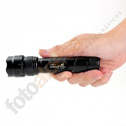 Linterna ultrafire WF-502B+pilas+cargador