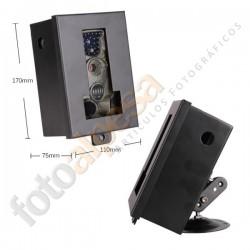 Caja de Seguridad metalica con montura.