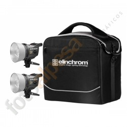 ELINCHROM KIT SCANLITE HALOGEN 300 / 600