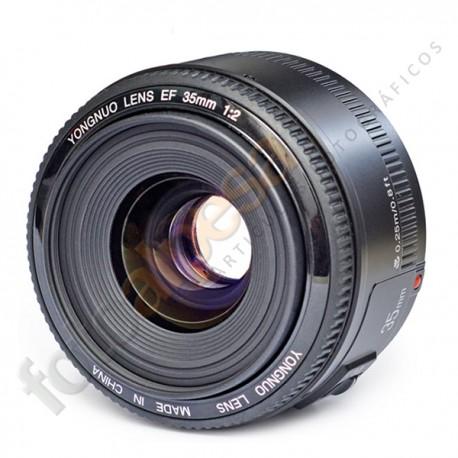 Yongnuo EF Yn-35mm f/2.0 para Canon