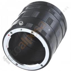Tubos de extensión para Canon DSLR