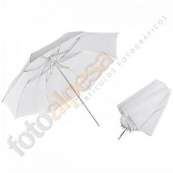 """Paraguas traslucido plegable 36"""" (90cm)."""